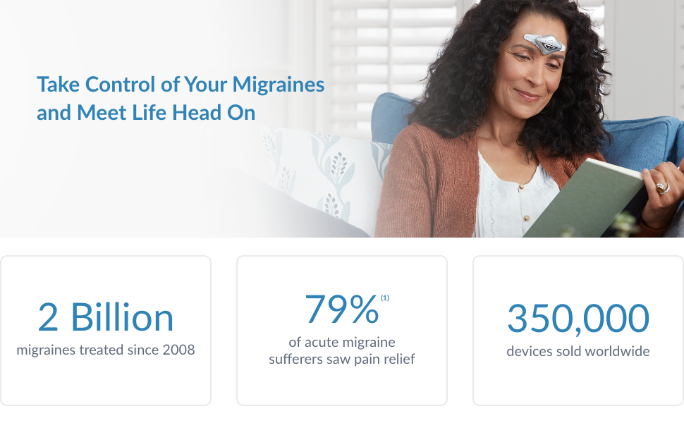 Take Control of Your Migraines and Meet Life head On | Cefaly
