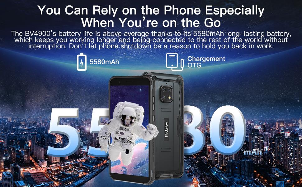 Battery 5580 mAh