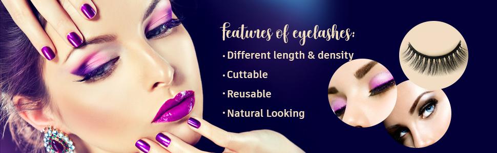 magnetic eyelash with eyeliner kit