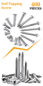 self tapping screw for metal