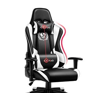 Adjustable Lumbar Support & Headrest