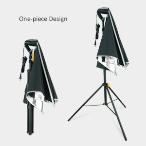One-piece Stand & Softbox