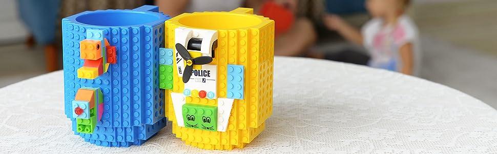BOMENNE Build on Brick coffee cup
