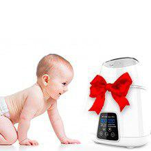 bottle warmer6 - TBI Pro 5-in-1 Portable Fast Baby Bottle Warmer For Baby Milk Breastmilk - Bottle Sterilizer With Timer Safe Auto-Off Function - Two Bottles BPA-Free For Babies Infant Food Rapid Defrosting Heating