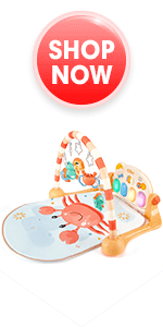 Baby Play Gym Mat with Kick amp; Play Piano