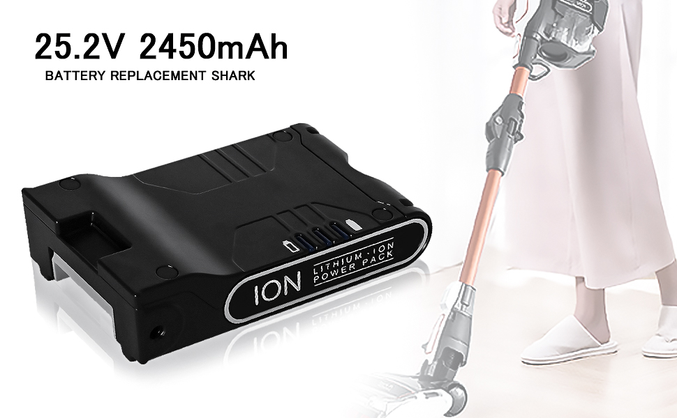 Shark ION battery replacement