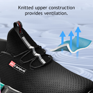 Knitted Upper construction