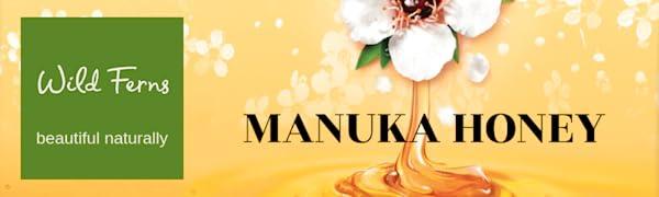 Biểu ngữ mật ong Manuka hoang dã