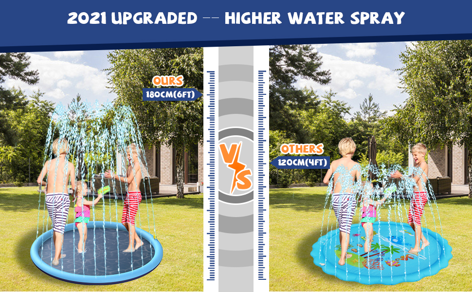 kids water sprinklers for outside