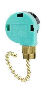 Brass ZE-268S6 Pull Chain Switch