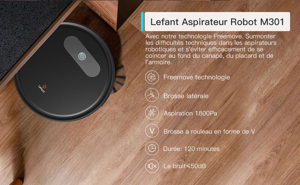 Lefant M300 Robot Vacuum CLeaner