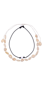 UEUC Pearl Shell Necklace