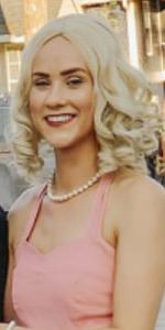 Cinderella  Fairy Godmother wig