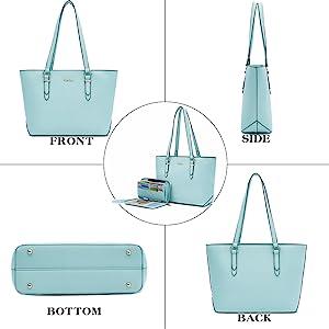 handbag and wallet set for women