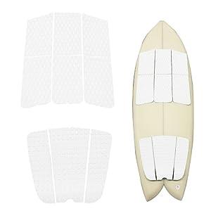 Premium   Surfboard Kiteboard Traction Pad Full Size Maximum Grip 9 Pieces