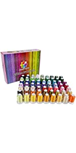 63 Brother Colors Polyester Embroidery Thread Set