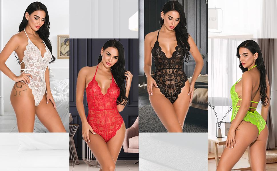 Women Sexy Teddy Nightwear