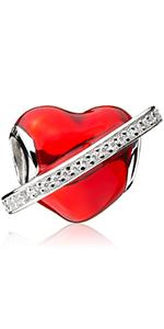 Love Heart Charms