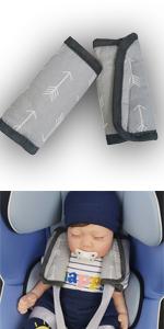 strap covers cotton