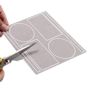 2 pieces whole felt pads