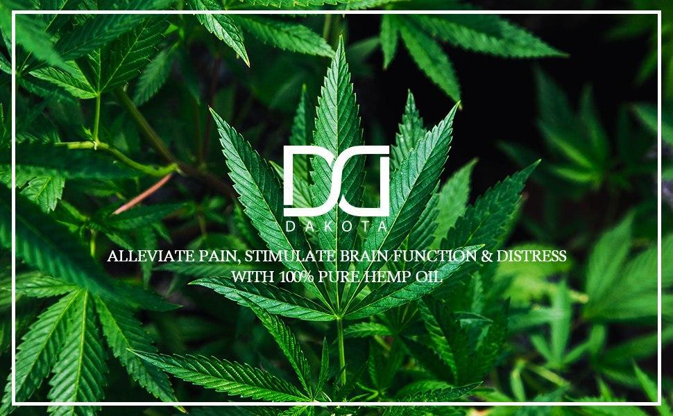 Hemp seed oil can help with pain management and sharpen memory and focus