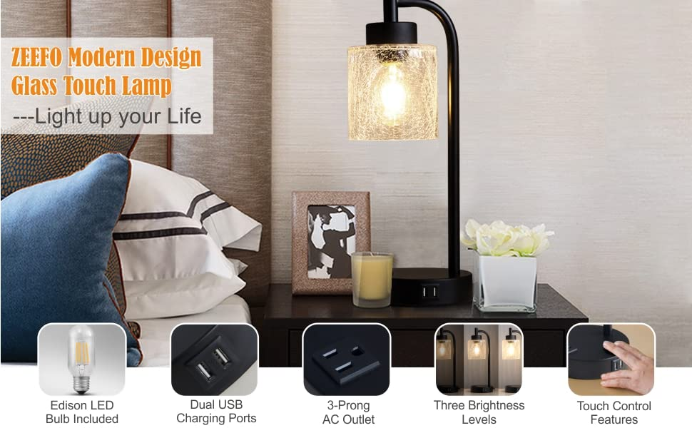 Glass Touch Lamps