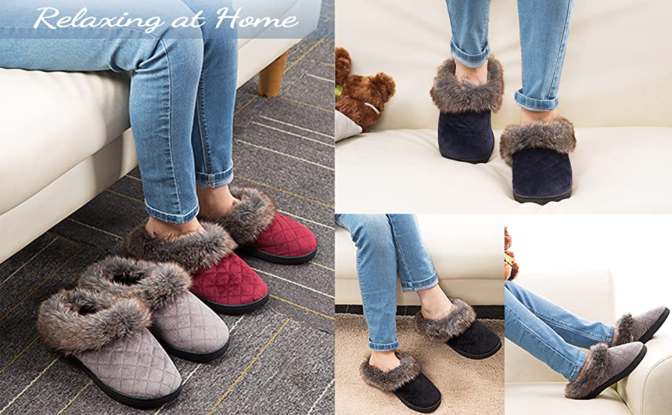 arch support womens slippers