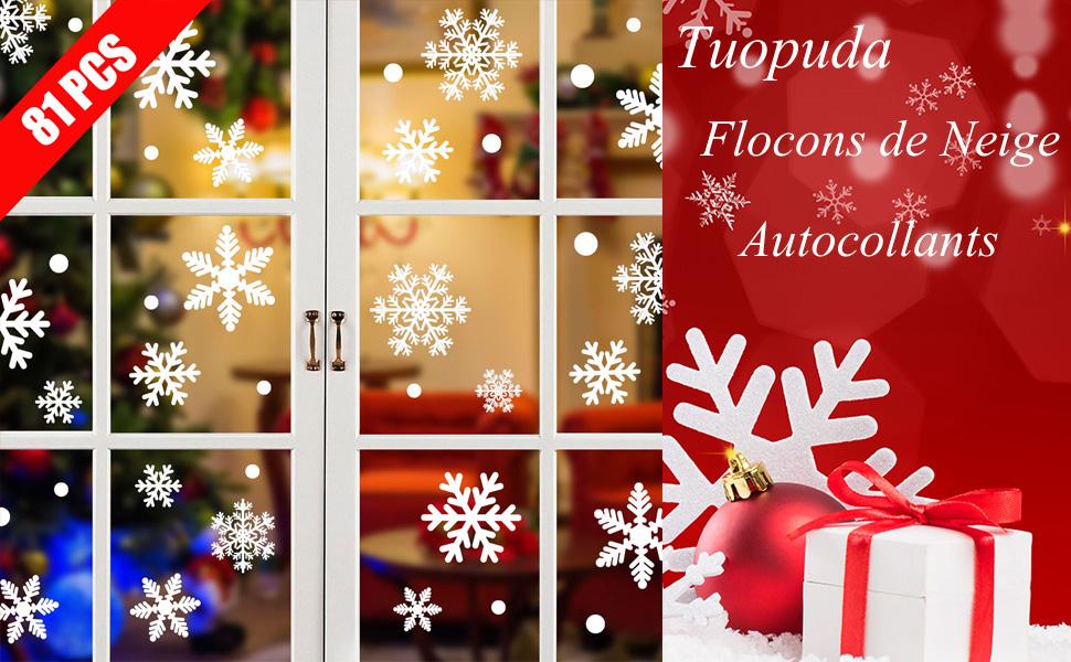 Amovible Joyeux Noël Bonne année Fenêtre Autocollant Mural Decal Noël Décoration