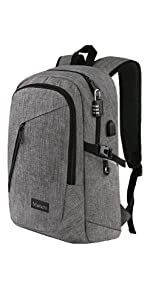 Laptop Backpack, Business Water Resistant Laptops Backpack Gift for Men Women