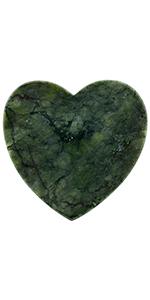 Green Howlite Turquoise Slice Stone