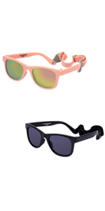 baby sunglasses with strap cocosand style for 0-2years 3 6 912 18 months