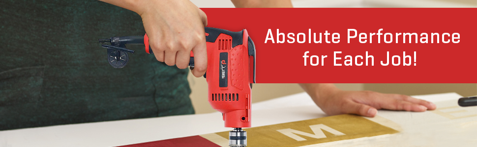 High Speed Electric Drill