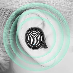 Wireless Earbuds Bluetooth Wireless Headphones Stereo HiFi Sound IPX8 Waterproof Wireless Headphones