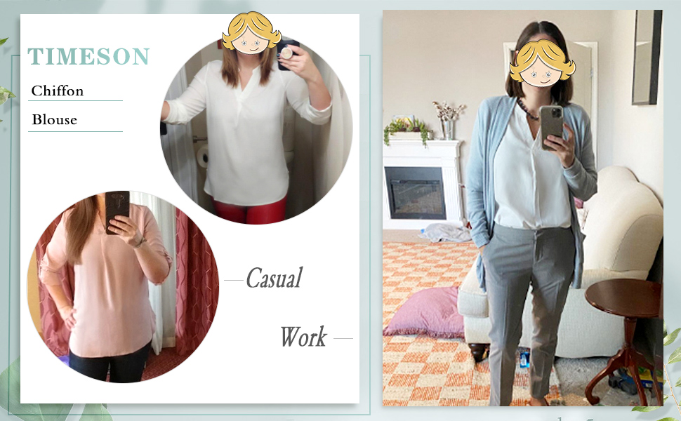 women blouses chiffon tunics blouse shirt for casual business office work for leggings