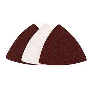 uxcell 220pcs 3 Inch Hook and Loop Sanding Discs Sander Pads 40 60 80 120 150 180 240 320 400 800 1000 Assorted Grits Triangle Sandpaper