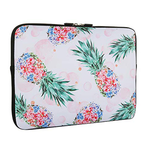 Crazy Pineapples Laptop Sleeve Bag Notebook Computer PC Neoprene Protection Zipper Case Cover 17 Inch