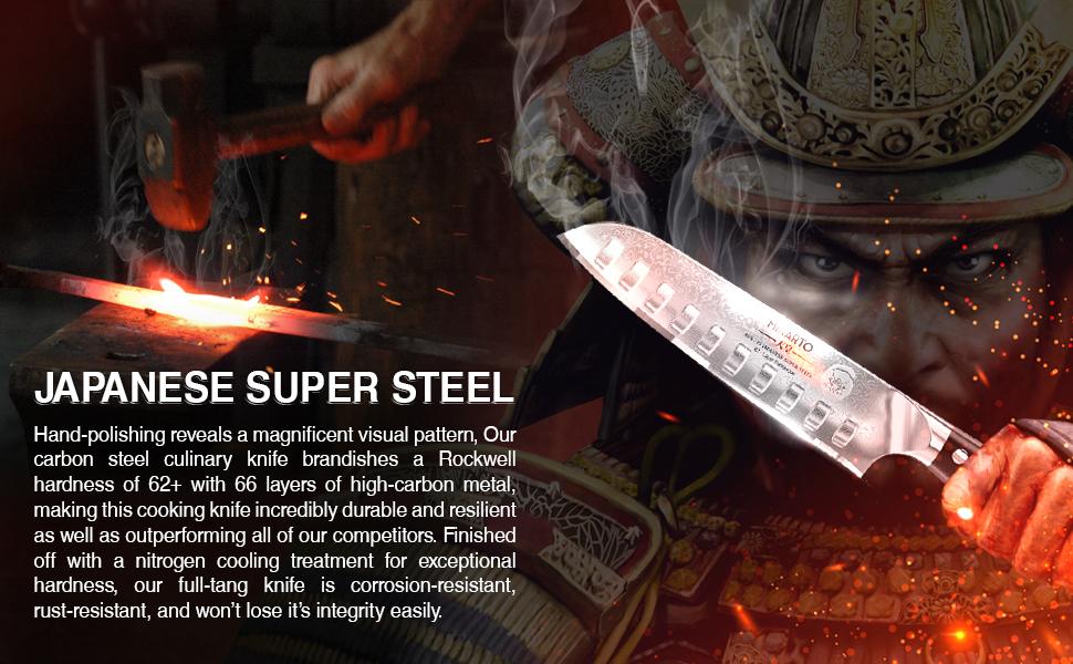 Japanese AUS 10-V Super Steel