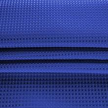 dobby fabric Royal Blau