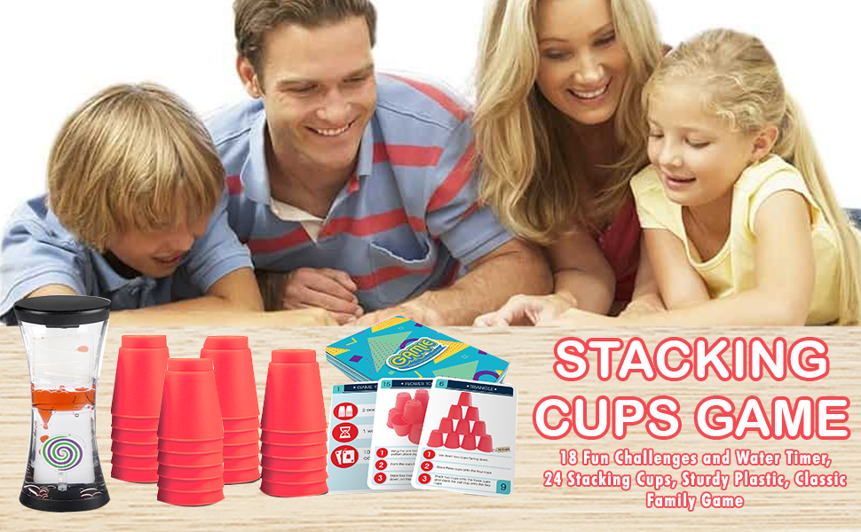 stacking cups game