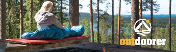 tama/ño Compacto una Vez plegada autoinflable 5 cm de Grosor outdoorer Trek Bed 3 colchoneta Aislante autoinflable colchoneta Aislante para acampadas y Trekking Ultraligera