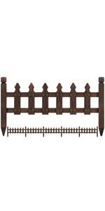 Yaheetech Garden Fence