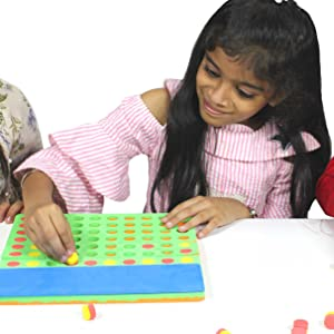 Brain Boosting Magnetic Board Games Gift Toys for Little Genius @ HOME Made in India Toys