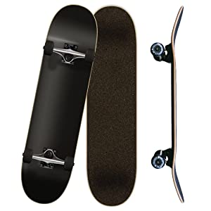 Yocaher, complete, skateboard, 7.75, Black, Blue, red, green, purple, white, skateboards