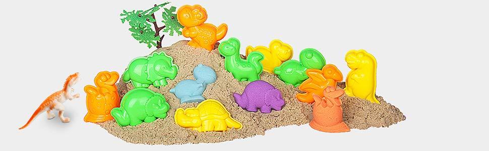 Arena Mágica, Arena Play Sand Colorido Soft Slime Never Dry ...
