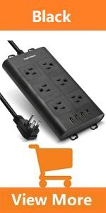 best power strip extension plug block
