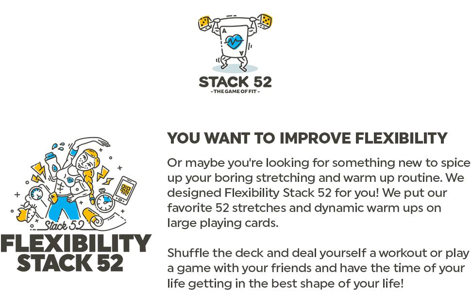 vorm oefening routine stretch dynamische flexibele warm up deck spelen spel vrienden leven