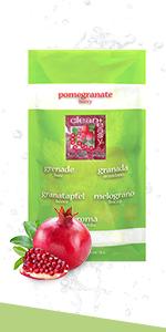 Clean + Easy Pomegranate Paraffin Wax, 1 lb
