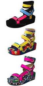 paltfrom sandals snakeskin sandals