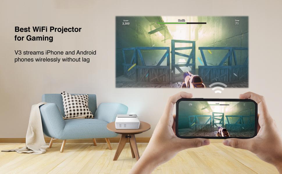 Beam V3 versatile home projector
