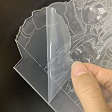 tear off the protective film